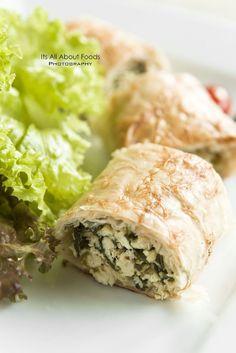 Spanakopita - Spinach + Feta Pie