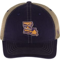 Zephyr Men's Louisiana State University Turnpike State Cap (Purple, Size One Size) - NCAA Licensed Product, NCAA Men's Caps at Academy Sports