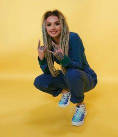 Zhavia Ward New picture August 2018 White Girl Dreads, Dreads Girl, Cool Hairstyles For Girls, Girl Hairstyles, Beautiful Dreadlocks, Casual Outfits, Fashion Outfits, White Girls, Style Icons