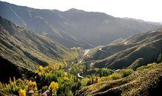 Los caracoles de Villavicencio, Provincia de Mendoza