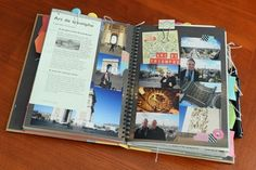 Aussie Scrap Source - Tons of pics of smash book pages and covers.