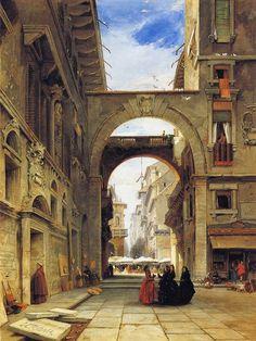 Piazza dei Signori, Verona, with the Market Place, James Holland