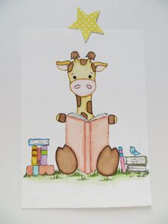 Baby giraffe watercolor painting ORIGINAL painting kids book art animal painting kids wall decor little reader nursery painting Nursery Drawings, Nursery Paintings, Animal Paintings, Nursery Art, Animal Drawings, Giraffe Nursery, Nursery Decor, Giraffe Drawing, Baby Drawing