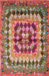Concentric Diamonds #Quilt #pattern from Accuquilt