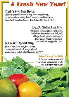 Monthly Specials January 2013 #Fresh #Healthy #Salsa #Mango