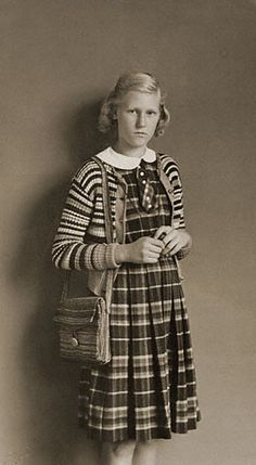 Confirmation Candidate August Sander c.1930 Germany
