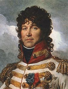 Joachim Murat (1767–1815), was a Marshall of France, and after marrying Caroline Bonaparte, the brother-in-law of Napoleon. He was daring,  charismatic and a flamboyant dresser. Both Caroline and Murat were ambitious. He became the Grand Duke of Berg, and then succeeded Caroline's brother as King of Naples. When he saw Napoleon losing against the allies, he abandoned the French to join the Allies, but when Napoleon rallied for 100 days, he turned coat again--and was executed for his…