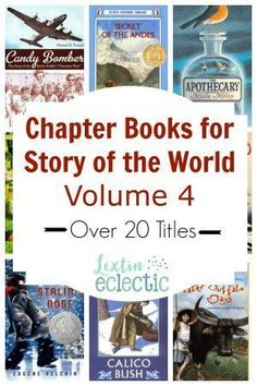 I made a picture book list to correspond to Volume 4 of Story of the World for my 1st and 2nd graders who will be joining us for history time. However, I also have a 4th grader to think about. She will love all the wonderful picture books but she willRead