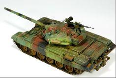 T72 1/35 Scale Model