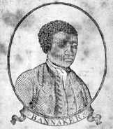 Who Was Benjamin Banneker?: A portrait of Benjamin Banneker on the cover of his Farmers Almanac - circa 1795