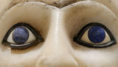 Lapis lazuli inlaid on the eyes of an ancient statue. Sumerian gods were fond of the stone, which when wet turns a brilliant, dark blue Ancient Mysteries, Ancient Artifacts, Lapis Lazuli Meaning, Ancient Mesopotamia, Ancient Egypt, Ancient Aliens, Ancient Civilizations, Three Primary Colors, Pierre Auguste Renoir