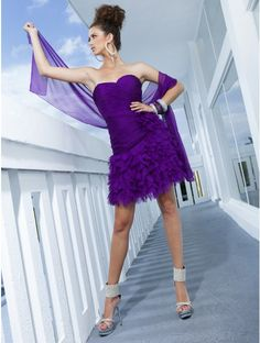 Luxury Sweetheart Chiffon Mini Cocktail Dress with Shawl Cheap Wedding Dresses Online, Prom Dresses For Sale, Cheap Bridesmaid Dresses, Beautiful Prom Dresses, Homecoming Dresses, Bridal Dresses, Flower Girl Dresses, Dress Prom, Flower Girls