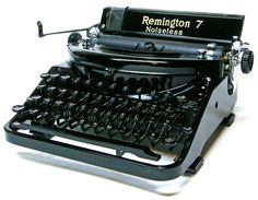 Remington Noiseless #7, c. 1932