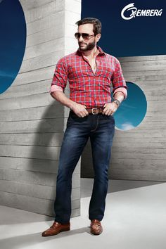 52167f9e3be Checked shirts are all the rage in Oxemberg s new 2015 campaign.   Oxemberg2015  NewCollection