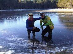 Laguna Bezas helada enero 2011