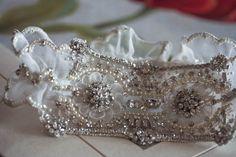 Bridal garter set - MI from MillieIcaro