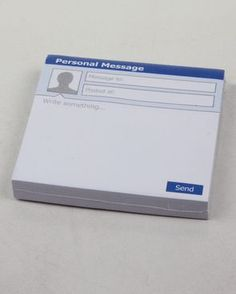 Facebook Post its!! This is ridiculously awesome!