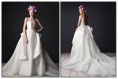 The day of your dreams deserves the perfect dress. My 2015 bridal collection has a regal feel fit for a queen. #bridal #wedding #weddingdress #couture   يوم أحلامك يستحق فستان زفاف مثالي، مجموعتي للأعراس 2015 تعكس شعور ملكي لتكوني ملكة في يوم زفافك