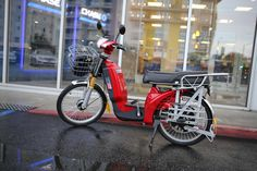 Feature-packed electric bike