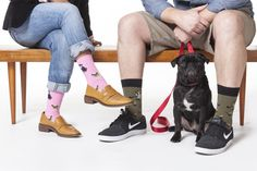 Do YOUR socks match YOUR dog? Well, they should!