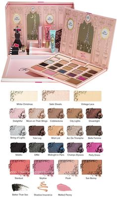 Too Faced Le Grand Palais Eyeshadow Palette <3 Christmas 2015 limited collection