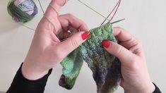 Kurz pletení ponožek, vzorek s přetahovanými oky