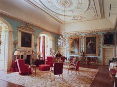 The State Drawing Room. Grimsthorpe Castle