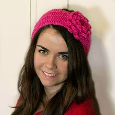 Lady In Red ~ Headband Crochet Pattern