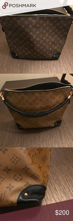 Triangle softy This is a repost. I took a chance and it didn't work out. Oh well. If you want it you can definitely make an offer. It's in good preowned condition. Feel free to ask questions but pay attention to the price before asking the obvious. Thanks! Louis Vuitton Bags Shoulder Bags