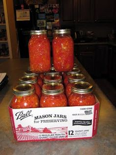 Why buy canned tomatoes when you can do it yourself?