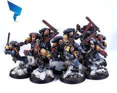 A miniature painting and learning service. Warhammer 40k Space Wolves, Grey Beards, Crusaders, Warhammer 40000, Space Marine, Marines, Sons, Miniatures, Models