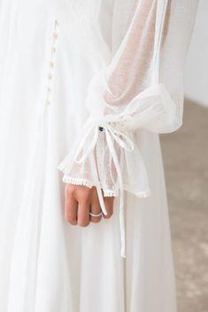 Modern Hijab Fashion, Boho Fashion, Girl Fashion, Fashion Dresses, Bohemian Mode, Boho Chic, Colored Wedding Dresses, Bridal Dresses, Hijab Stile