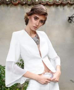 Akasha Asai Marlene Blazer Bridal