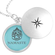 Pretty Namaste Ganesh Necklace