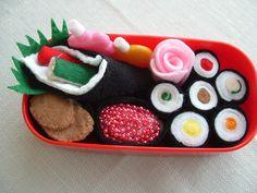 Sushi felt food