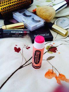 DIY Lipstick - With Materials You Already Have #Makeup #homemade #Crayola #crayons