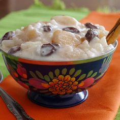 Slow Cooker Rice Pudding  | Meals.com - In just two hours you can be enjoying a warm dessert that didn't use the stove. Mix rice, sweetened condensed milk, milk, cinnamon, vanilla extract and raisins for this traditional favorite. #RicePudding #SlowCooker