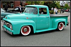 1956 Ford F100 Mint Green