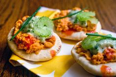 Buffalo Chickpea Pitas With Ranch//As I said.  Feeding my buffalo addiction one recipe at a time.
