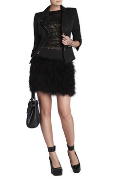 This outfit is KILLER!!! #fashion #black #dazzlemedeals