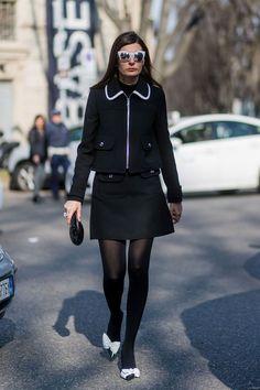 Giovanna Engelbert Street Style   British Vogue