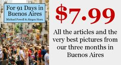 Buenos Aires Travel Book!