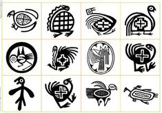 dibujos de guardas pampas para imprimir - Buscar con Google Native American Animals, Native American Symbols, Native American Design, Native Design, Arte Tribal, Tribal Art, Doodles Zentangles, Mundo Hippie, Colombian Art