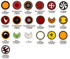 Greek Shield Patterns: 590-540 BC