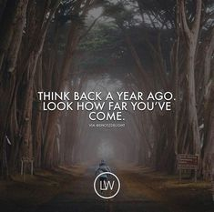 Positive Quotes :    QUOTATION – Image :    Quotes Of the day  – Description  Think back a year ago..  Sharing is Power  – Don't forget to share this quote !    https://hallofquotes.com/2018/04/06/positive-quotes-think-back-a-year-ago/