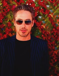 Hadn't seen this one either, love the colors! Most Beautiful Man, Beautiful People, People Of Interest, Work Today, Robert Downey Jr, In Hollywood, Civilization, Role Models, Iron Man