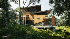 Rest House by Laguerta Robert