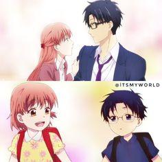 Hirotaka Nifuji x Narumi Momose / Wotaku ni Koi wa Muzukashii Manga Anime, Otaku Anime, Manga Art, Anime Art, Me Me Me Anime, Anime Love, Koi, Manga Covers, Ecchi