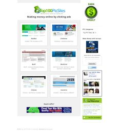 Top 100 PTC Sites - Making Money Online By Clicking Ads
