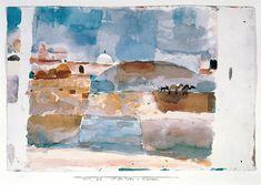 Afbeelding Paul Klee - Vor den Toren von Kairouan